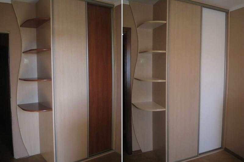 Как покрасить шкаф из мдф в белый цвет
