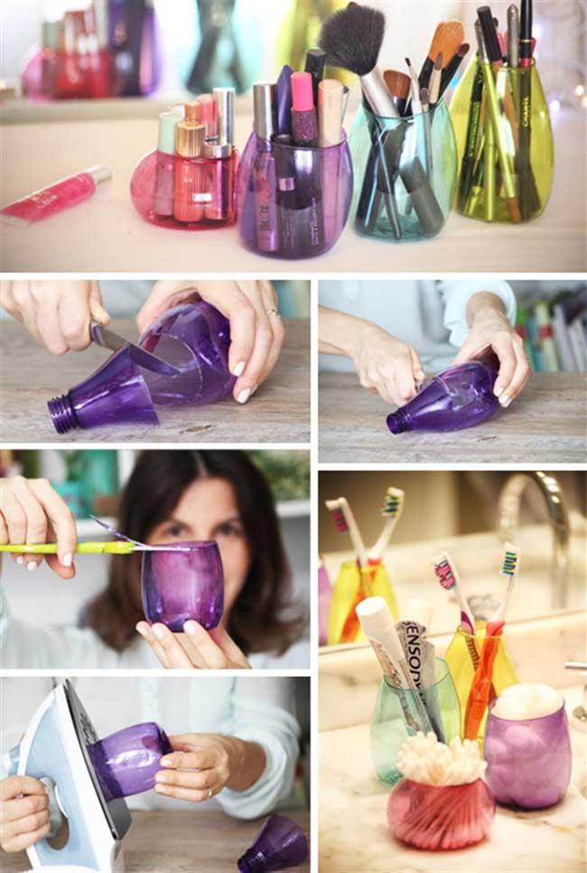 Органайзер из пластиковых бутылок