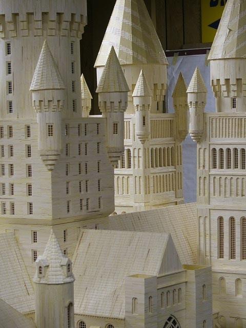 Как сделать замок из спичек своими руками 39