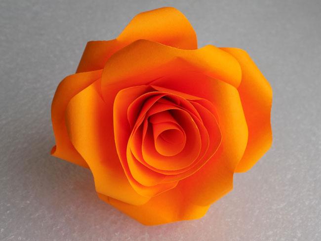 сделай сам розу из бумаги