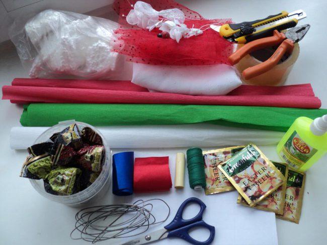 Инструменты и материалы для мастер-класса