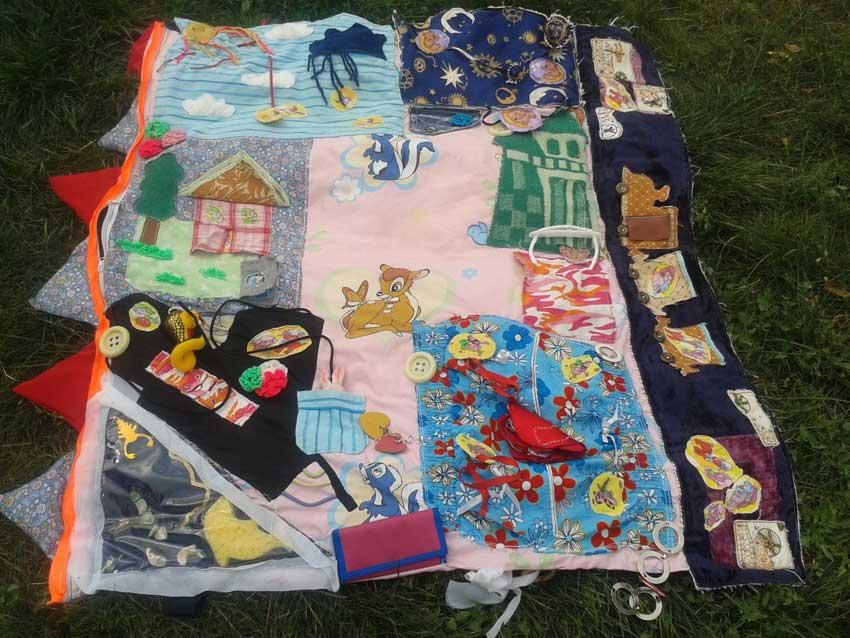 Детский развивающий коврик для детей своими руками фото 370