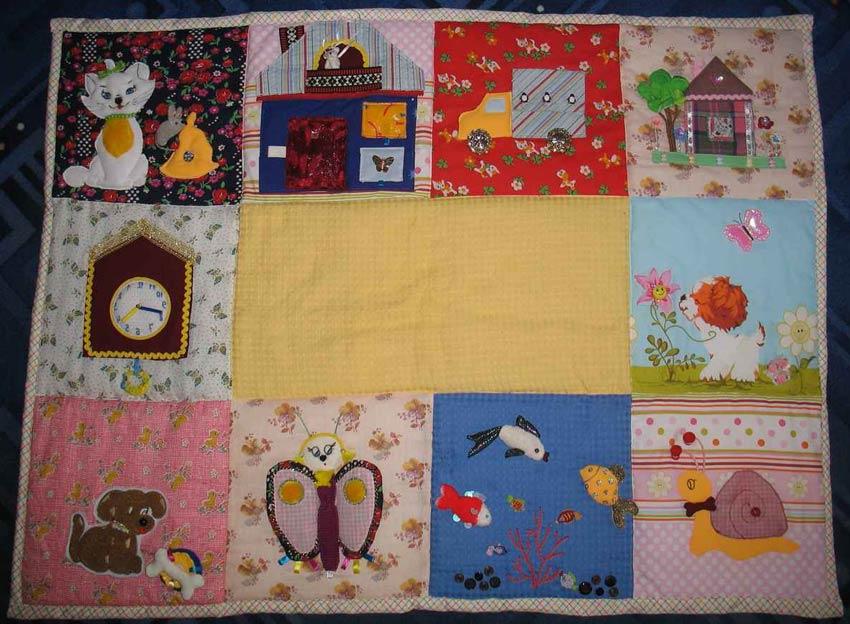 Развивающий коврик для детей своими руками (36 фото как) 32