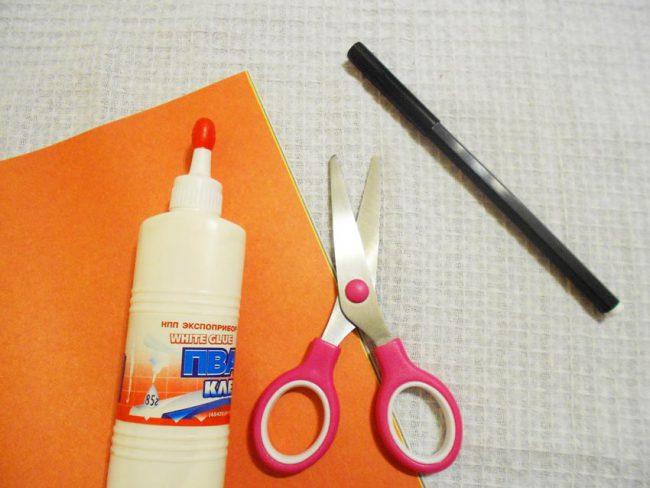 Материалы и инструменты для создания открытки